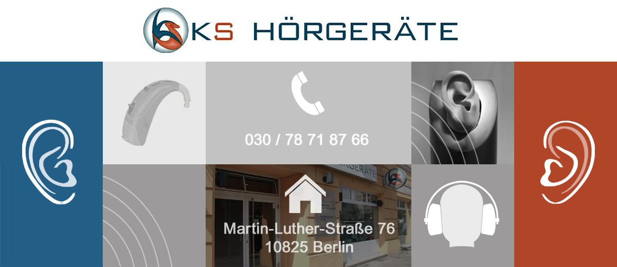 KS Hörgeräte in Berlin Schöneberg